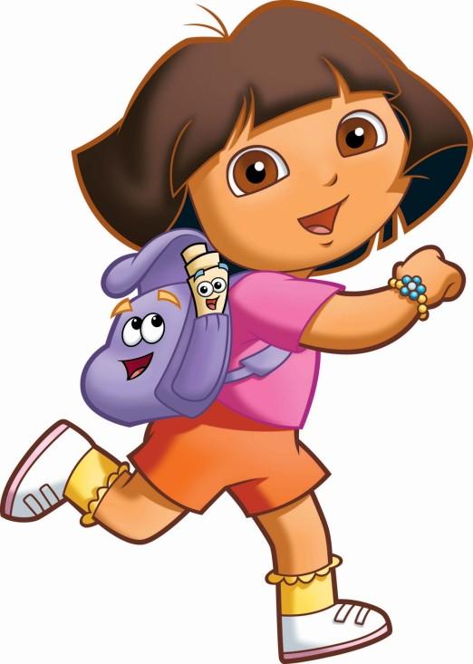 Dora la exploradora y su mochila