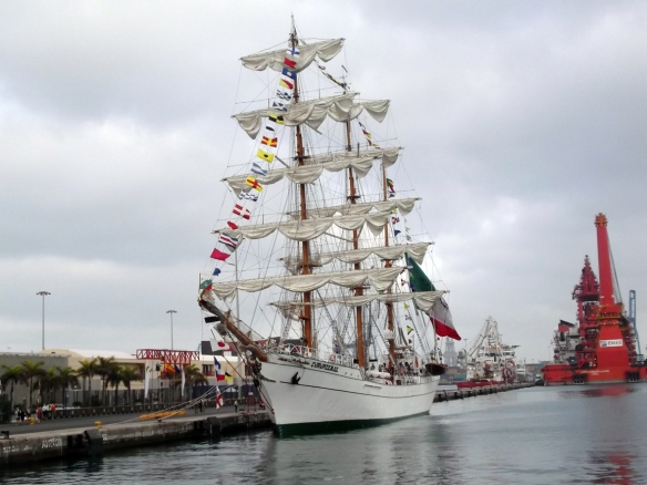 buque escuela armada mexicana